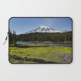 Mt Rainier from Reflection Lake, No. 1 Laptop Sleeve