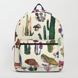 cacatus and mushrooms new Backpack