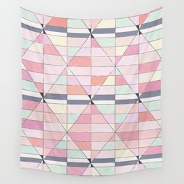 Sorbet Pinks Wall Tapestry
