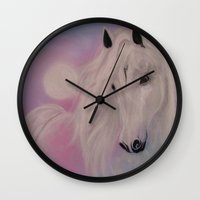 serenity Wall Clocks featuring Serenity by Christine's heART