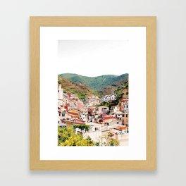 Riomaggiore, La Spezia. Framed Art Print
