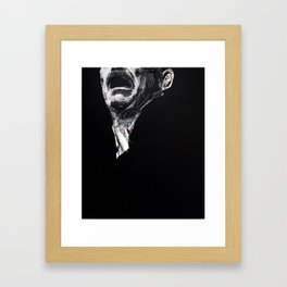 Big head 6. 2010.  Framed Art Print