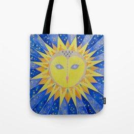 Sun Owl Tote Bag