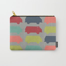 Westfalia Repeating Image Mid-Century Modern Pop-Art Carry-All Pouch