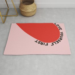 Love Yourself First Rug