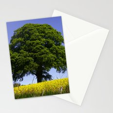 Blue and Yellow Stationery Cards