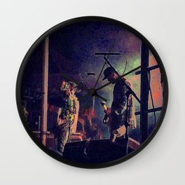 Jesse Lacey- Brand New Concert 2 Wall Clock