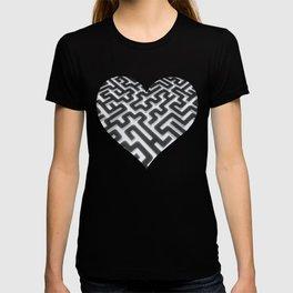 Maze Silver Black T-shirt