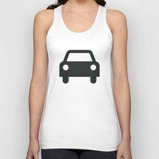 Car Unisex Tank Top