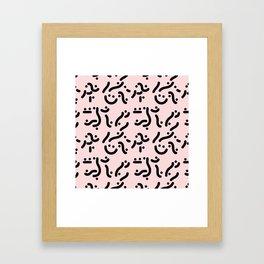 Curvers/ lines/ runners Framed Art Print