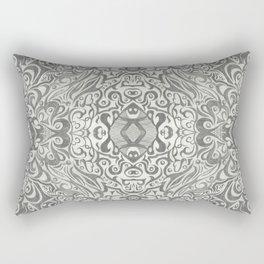 Sketch Core Pattern Rectangular Pillow