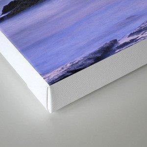 """Purple sea"" Canvas Print"