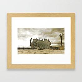 Sleeping giant Framed Art Print