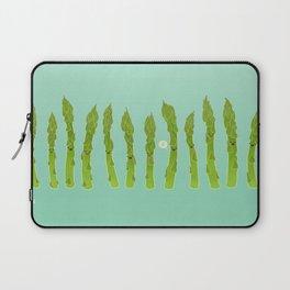Asparagus Say Hi! Laptop Sleeve