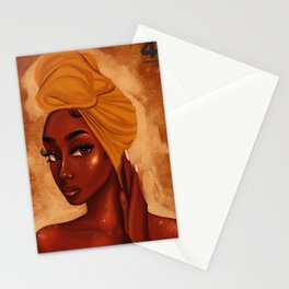 U R my african queen Stationery Cards