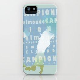 Campioni Del Mondo iPhone Case