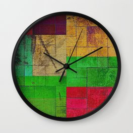 Solid Color Wall Clock