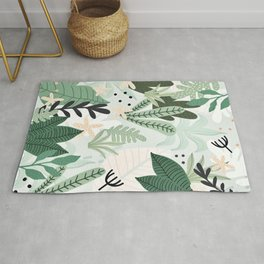 Into the jungle II Rug