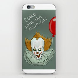 Come Join the Clown, Eds iPhone Skin