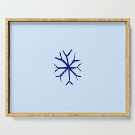 snowflake 1 Serving Tray