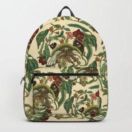 Botanical English Bulldog Backpack