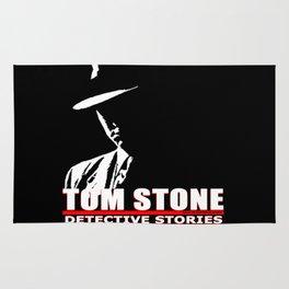 Tom Stone Detective Stories Rug