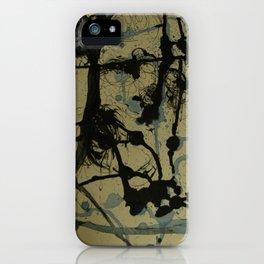 Entre manchas iPhone Case