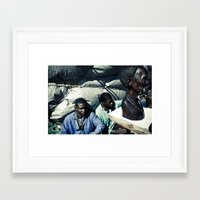 african Framed Art Prints featuring african by NAIK