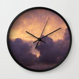 Clouds IX Wall Clock