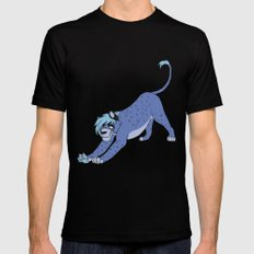 Sly Feline Mens Fitted Tee SMALL Black