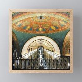 Art Deco Fisher Building Downtown Detroit Framed Mini Art Print