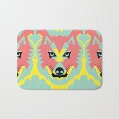 The Pack of Modular Wolves Bath Mat