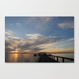 Path to a New Day Canvas Print