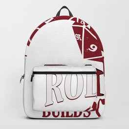 RPG Gaming Table Top Dice Game Gift Design Idea Backpack