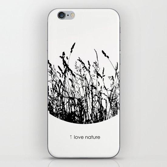 i love nature iPhone & iPod Skin