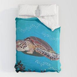 Australian Green Sea Turtle Comforters