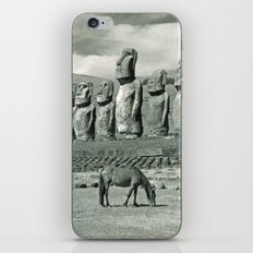EASTER ISLAND VISTA iPhone & iPod Skin
