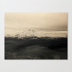Icy Mountain Canvas Print