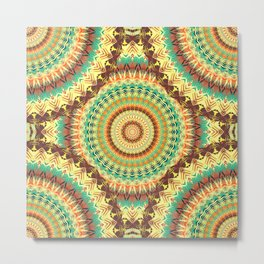 Mandala 302 Metal Print