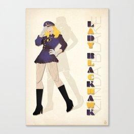 Lady Blackhawk Canvas Print