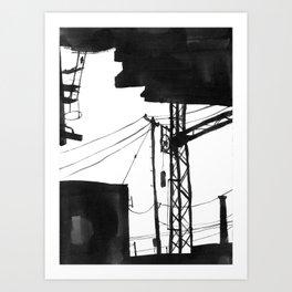 Railway IX Art Print