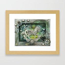 Mechanical Horse I Framed Art Print