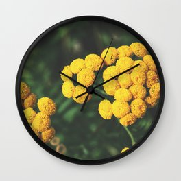 Infinite blossom Wall Clock