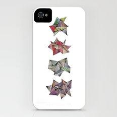 Spikey Friends Slim Case iPhone (4, 4s)