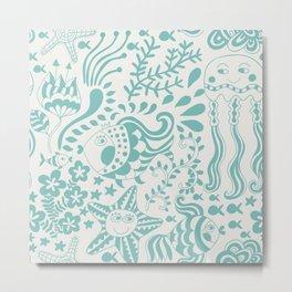 Ocean life Metal Print