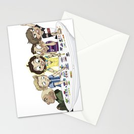 too emotional for this Stationery Cards
