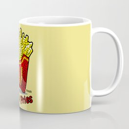 Maze Shirts: Large Fries Coffee Mug
