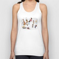 the royal tenenbaums Tank Tops featuring O Tenenbaums! by JessLane