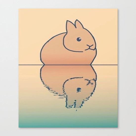 rabbit-45 Canvas Print