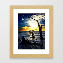 Hanging Tree Framed Art Print